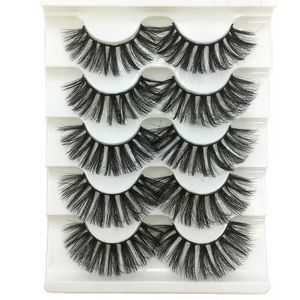 BACK IN!! 🍁 5D REAL MINK 5 PAIR FALSE EYELASHES
